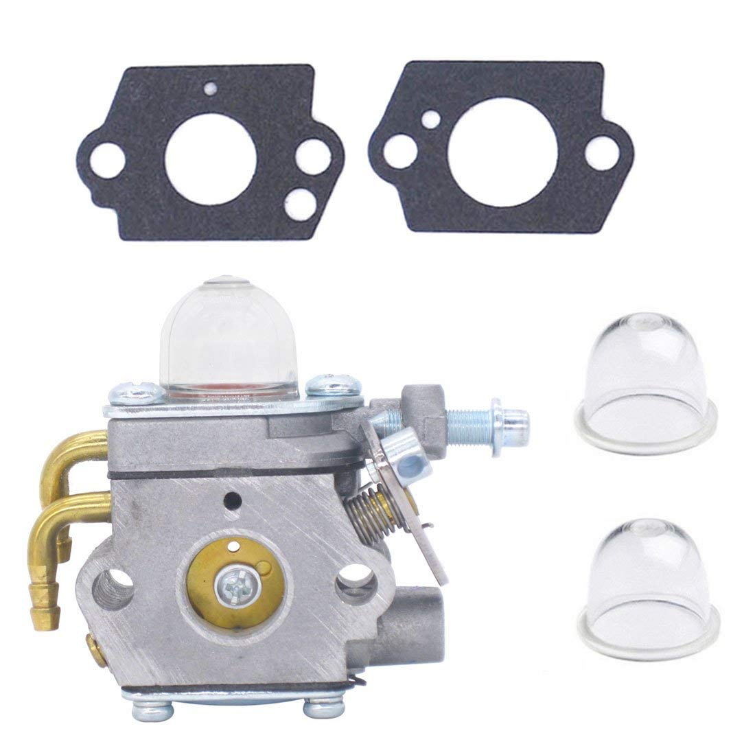 Atoparts Carburetor with Gasket Primer Bulb 308054001 for Homelite UT-21506 UT-21907 UT-21546 UT-21566 UT-21947 UT21967 26CC Edger String Trimmer Blower