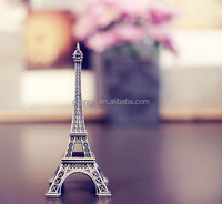 Wholesale high quality metal about paris mini Eiffel Tower for home decoration/wedding