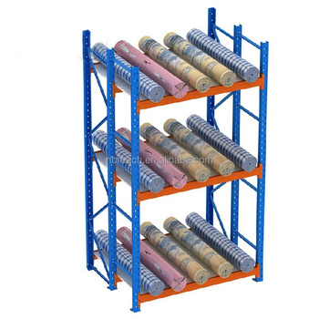 Charmant Multi Level Steel Fabric Roll Storage Rack,fabric Roll Storage Shelf/rack