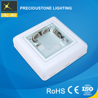 Hotel Surface Mount Square 18W Ceiling Lights Living Room