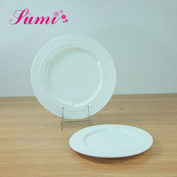 Custom design dinner thermal food kitchen ceramic small round plate bulk ceramic plates & Custom Design Dinner Thermal Food Kitchen Ceramic Small Round Plate ...