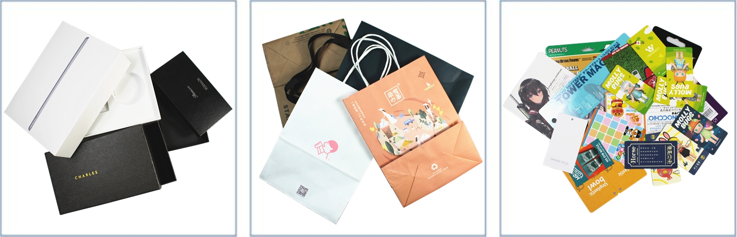 JiaYuan Customized Logo Craft Paper Shopping Bag with Handle