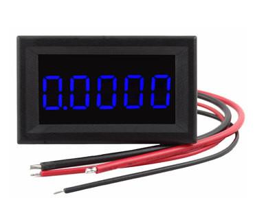 """0.36/"""" Digital Ammeter 0-3.0000A DC Current Panel Meter Five Digit Red LED"""