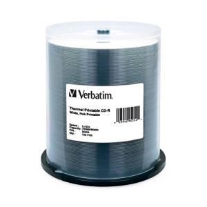 """Verbatim America, Llc - Verbatim 52X Cd-R Media - Printable - 700Mb - 100 Pack """"Product Category: Storage Media/Optical Media"""""""
