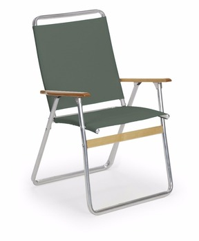 Easy In And Out High Back Folding Beach Arm Chair, Forest Green Comping  Chair