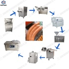 Sausage making machine in meat product making machines