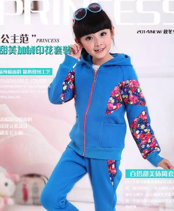 2017 Girls clothes cheap price manufacturer of kids Guangzhou Child sport causual Sets