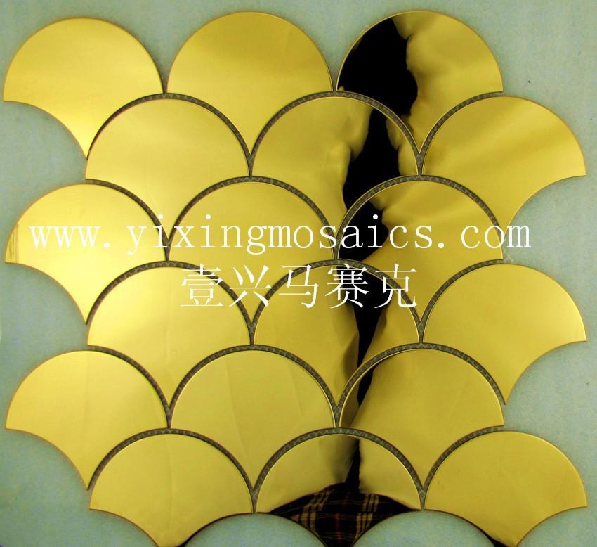 Grandi dimensioni scape(ventilatore) forma color oro metla ...