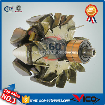 Alternator Rotor Applicable To Delco CS130 Series 85-105A IR/EF Alternators 10474093 10479998 10495661 D3181