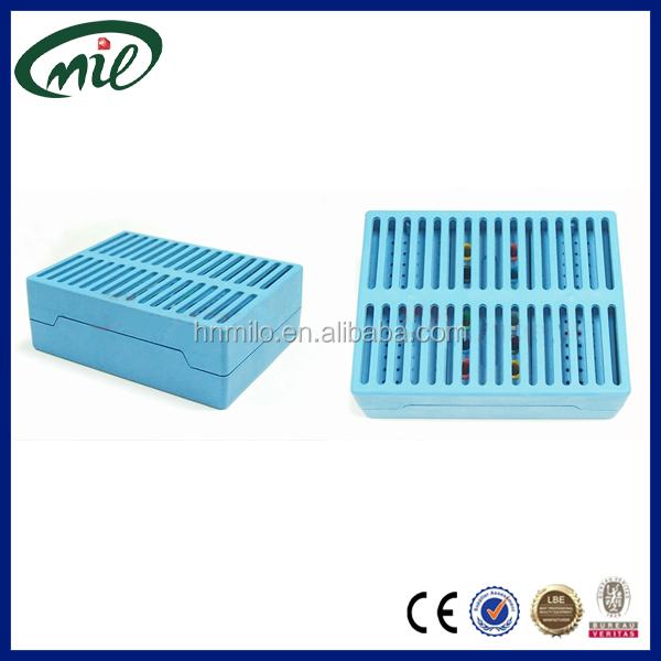 Three cores Lab dental product dental instrument box/plastic bur holder