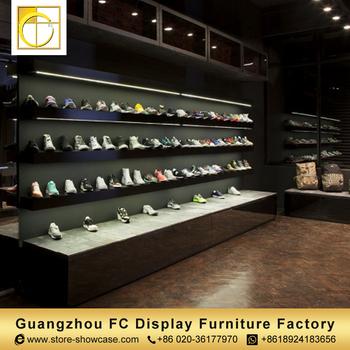 a1e9278f1def55 Guangzhou haute qualité magasin de bâti de mur de meubles d'affichage de  chaussure chaussures
