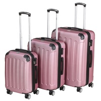 Chinese factory hard trolley luggage , girls suitcase, classic luggage sets
