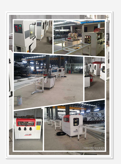 Thermal Break Assembly Machine for Aluminum Window        Production line  with 3 machines