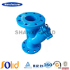 Ductile iron Y strainer DN100 with SS304 screen, PN10, PN16, PN25, face to face DIN3202 F1