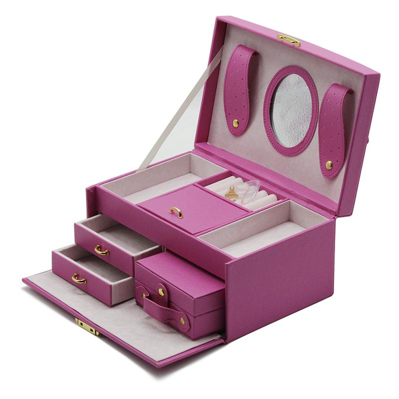 Venda quente para as meninas caixa de jóias caixa de jóias