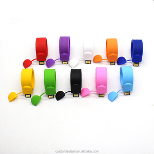 Bracelet USB flash drive Pendrive portable U-Disk fancy wrist memory stick