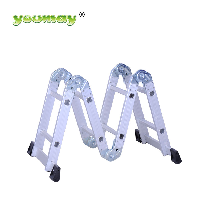 Aluminium best 4x4 multi purpose ladder with platform accessories