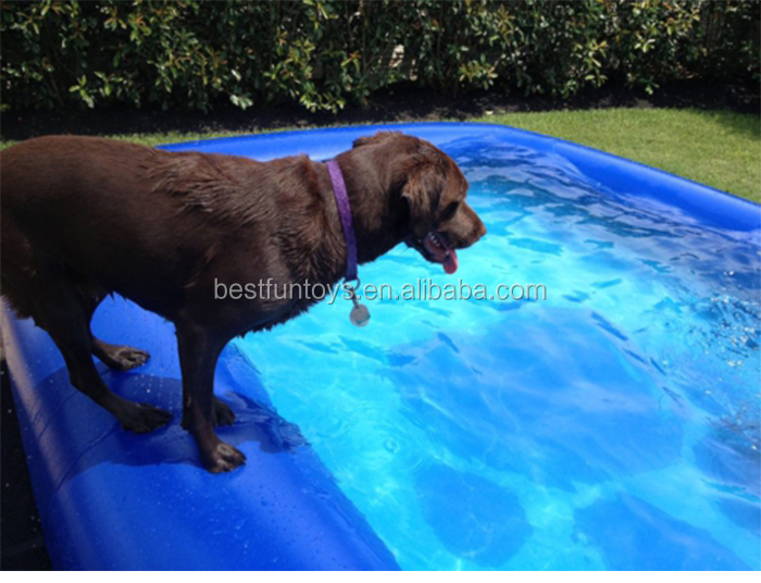 Factory Custom Made Fabric Inflatable Dog Swimming Spa Wading Pool Buy Inflatable Dog Pool Dog