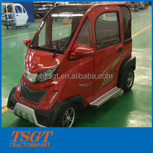 China manufacturer cheap small adult 4 wheel electric cars