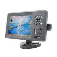 KP-708 Marine GPS Chartplotter with chart map SD card C-map/K-chart
