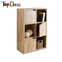 High quality Multi use Home furniture cheap modern PB wooden crockery cabinet