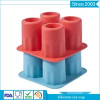 top sale food grade flexible wine freezer silicone fda oem shaped silicone ice tray