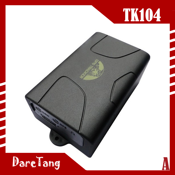 GSM GPRS GPS <strong>TRACKER</strong> waterproof Function big Battery 60 days standby TK104B