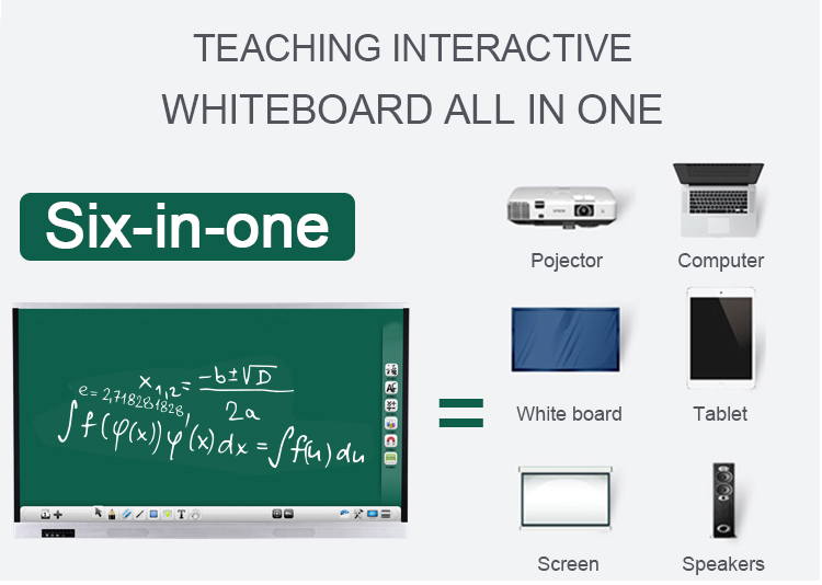"75"" inch interactive smart board electronic interactive whiteboard price for classrooms teaching use"
