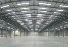 Steel Structure Ware House / Prefabricated Steel Building