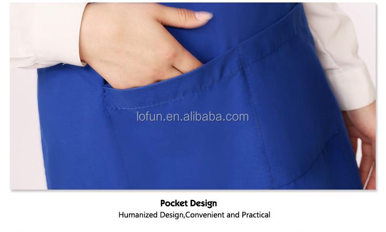Custom Christmas Novelty Gabardine Fabric Aprons For Men