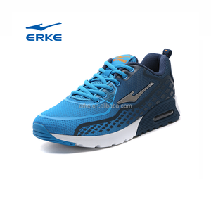2017 new china wholesale jogging walking ERKE brand air cushion sport shoes for men