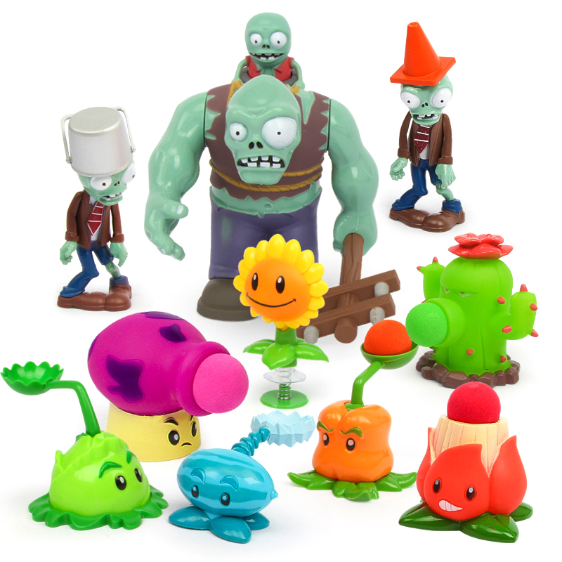 Plants VS Zombies Toy For Kids Educational Toys 3D DIY Jigsaw Puzzle Enriches