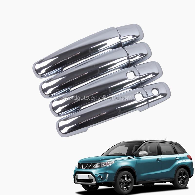 Chrome Door Handle Cover Trim With Key Hole for Suzuki Vitara Escudo 2015-2019