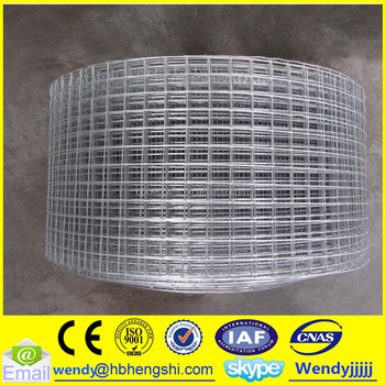 Galvanized Square Hole Welded Wire Mesh Roll/lowes Chicken Wire ...