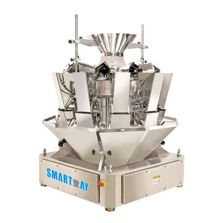 Smart Weigh pack head liquid packing machine customization for food weighing-8