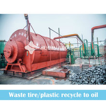 Starting Business From 1993 10T Waste Tire To Fuel Oil Machine