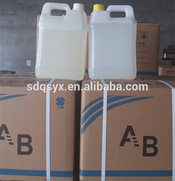 Clear epoxy resin crystal A/B glue liquid hot sale 2019