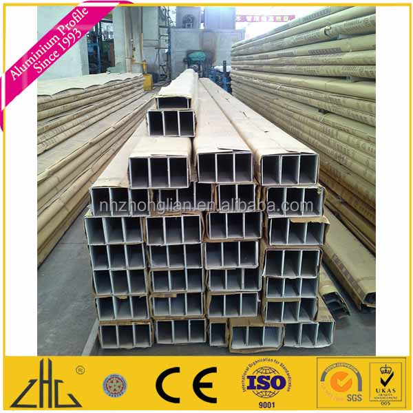 Wow!!Alloy aluminum rectangular tubing/6063 T5 aluminum hollow section for construction/6061T6 aluminum tube square manufacturer