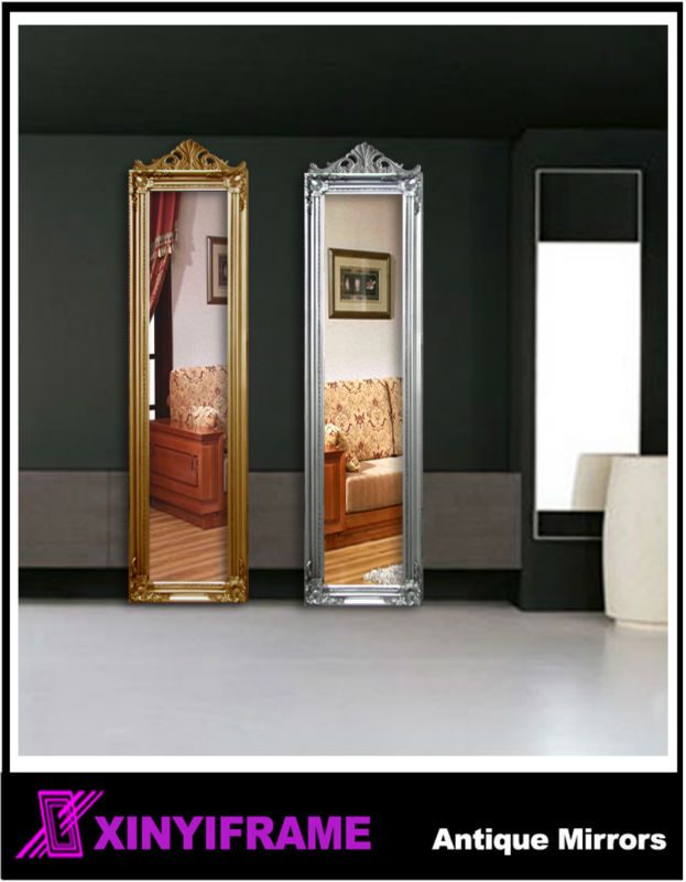 Victorian Espejo Antiguo Para La Venta Grande Madera Espejos ...