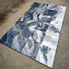 Gray rustic tile 600x600, grey marble design