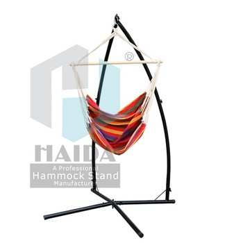 New Product Hanging Hammock Chair Frame With Cotton Hammock Chair ...