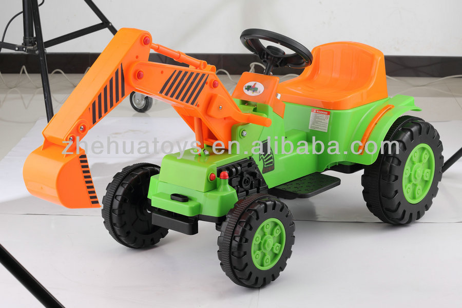 kids ride on electric tractor with loader digger ride on car buy ride on carkids electric carkids ride on electric tractor product on alibabacom