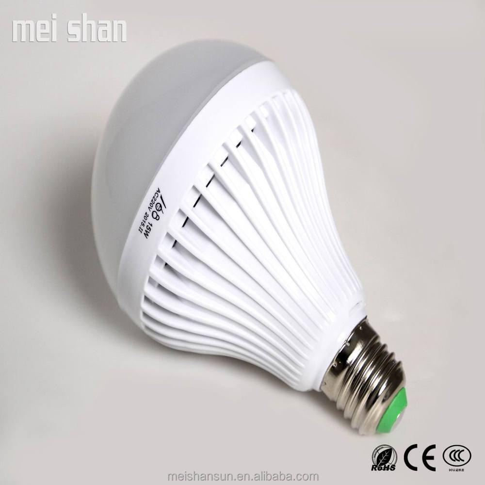 12w Pc Plastic Body Led Light Bulb Smd5730 E27 Base Led Lamp With ...