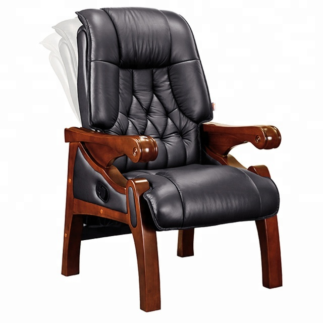 Solid Wood 4 Legs Court Furniture Royal Meeting Chair Judge Chair