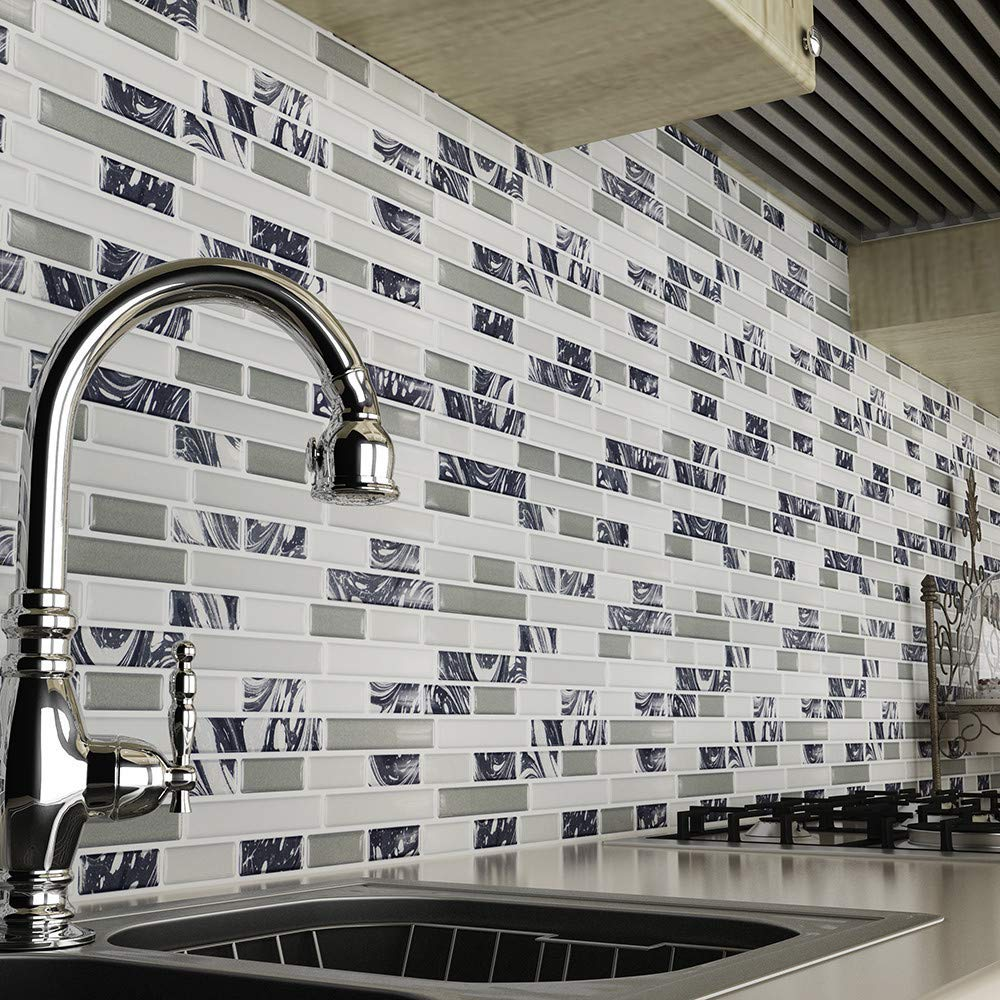 Get Quotations Coohole Mosaic Self Adhesive Wall Stick Tile For Kitchen
