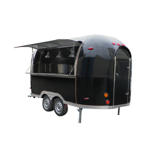 Kitchen Cooking towable food trailer for sale/japanese food cart/Mobile Food truck