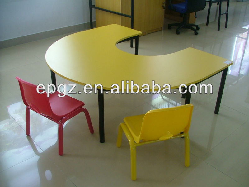 Scrivania Da Disegno : Mdf bambini tavolo da disegno tavolo e sedie rotonda bambini