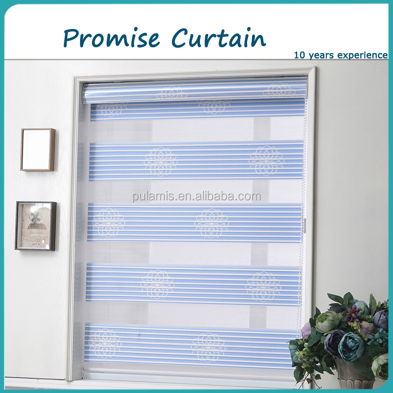 Roller blinds window treatments for sliding glass doors