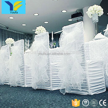 Super Universal White Banquet Wedding Chair Cover Ruffle Folding Wholesale Cheap Christmas Spandex Chair Covers Wedding Decoration Buy Chair Covers Ibusinesslaw Wood Chair Design Ideas Ibusinesslaworg
