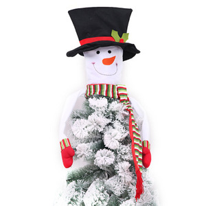 Christmas Tree Decoration Ornament Snowman Tree Topper
